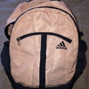 adidas Bags - Pink & Navy Blue Adidas Backpack
